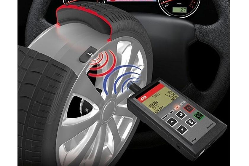 سیستم کنترل فشار باد تایر خودرو