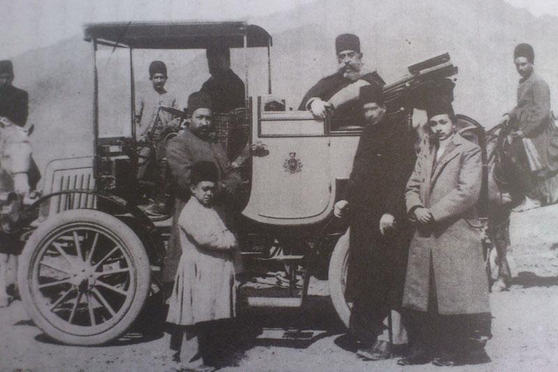 خودروهای موزه خودرو ایران تهران