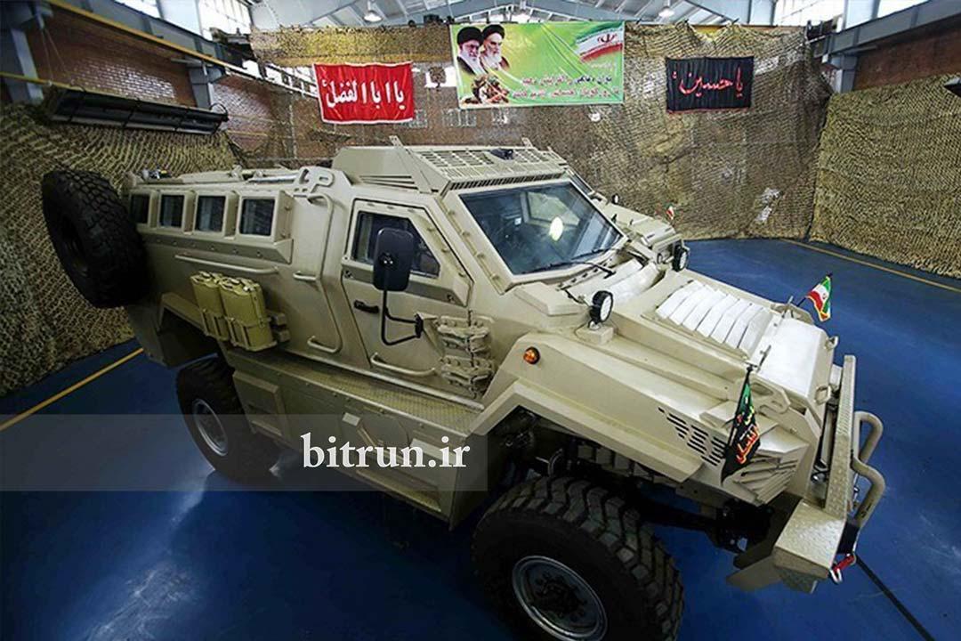 خودروی نظامی ایرانی