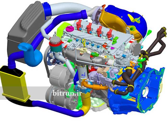 موتورهای ایرانی خودرو