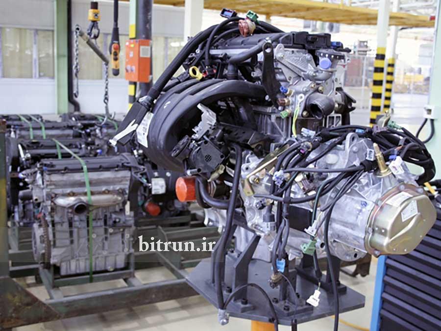 موتورهای ایرانی خودرو ملی