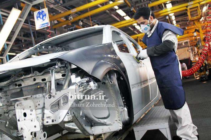 تولید خودرو در کشور کاهش یافت