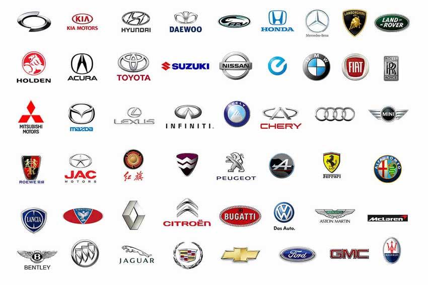 لوگوی شرکت های خودروسازی چه می گویند؟ پرفروش ترین خودورها