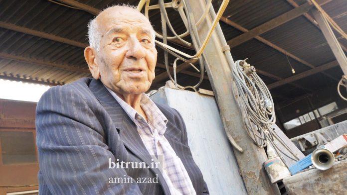 به احترام پدر صنعت کامیون ایران