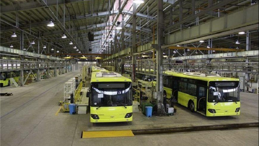 ورود سه هزار اتوبوس جدید به ناوگان حمل و نقل عمومی