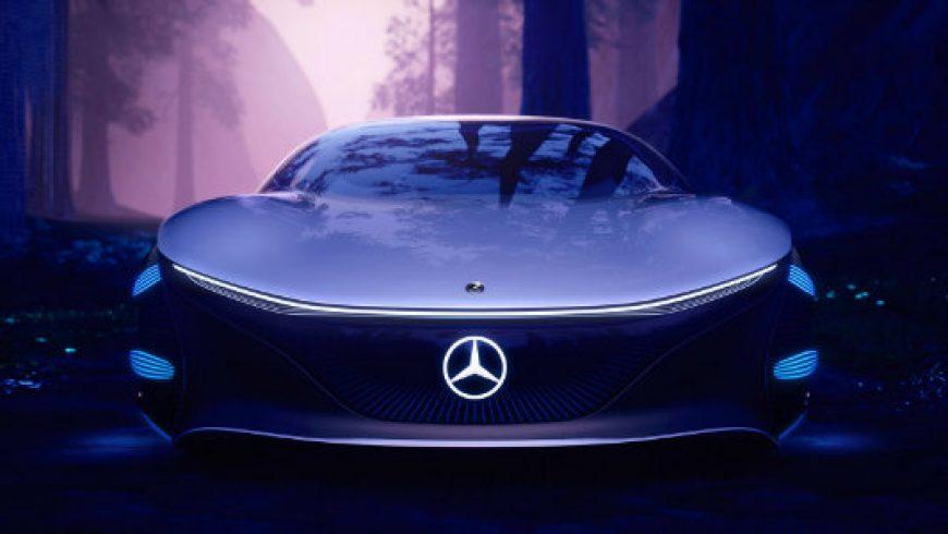 تکنولوژی فوق العاده باتری های مرسدس بنز در قالب خودرو مفهومی Vision AVTR