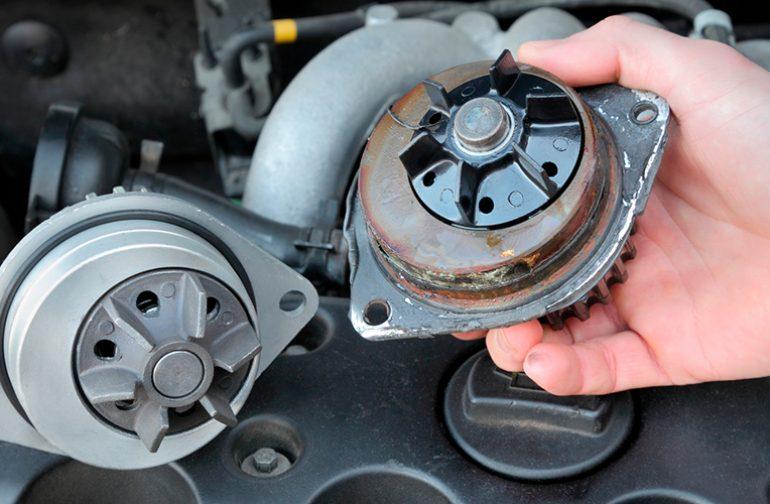 آشنایی با عملکرد واتر پمپ و مشکلات آن در سیستم خنک کننده خودرو