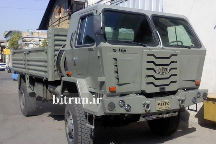 کامیون های ارتش