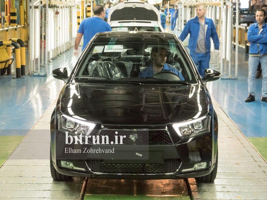پایان تولید در ایران خودرو