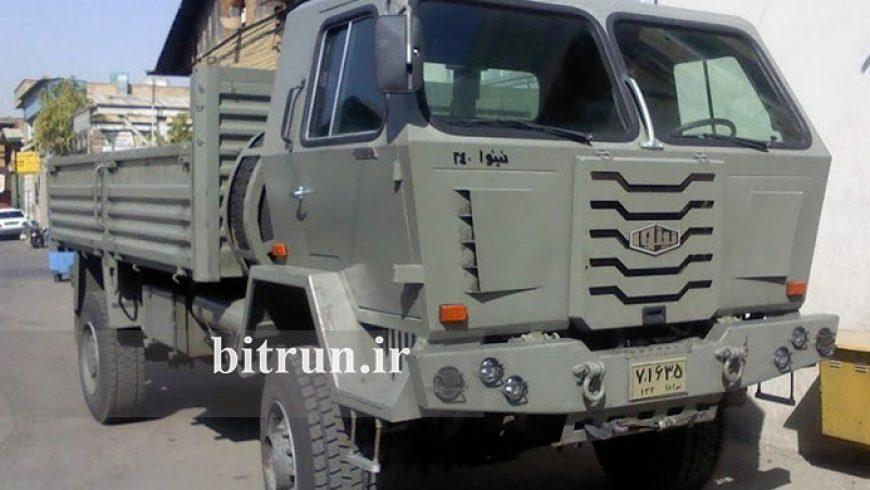 کامیون های ارتش و بیمارستان مبارزه با کرونا در ایران