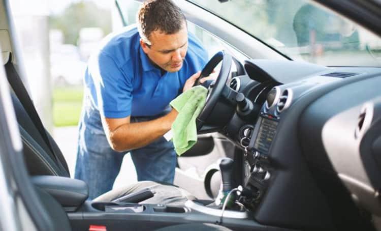 ضدعفونی کردن خودرو