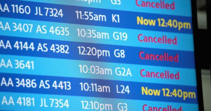 تعلیق پروازهای مسافری