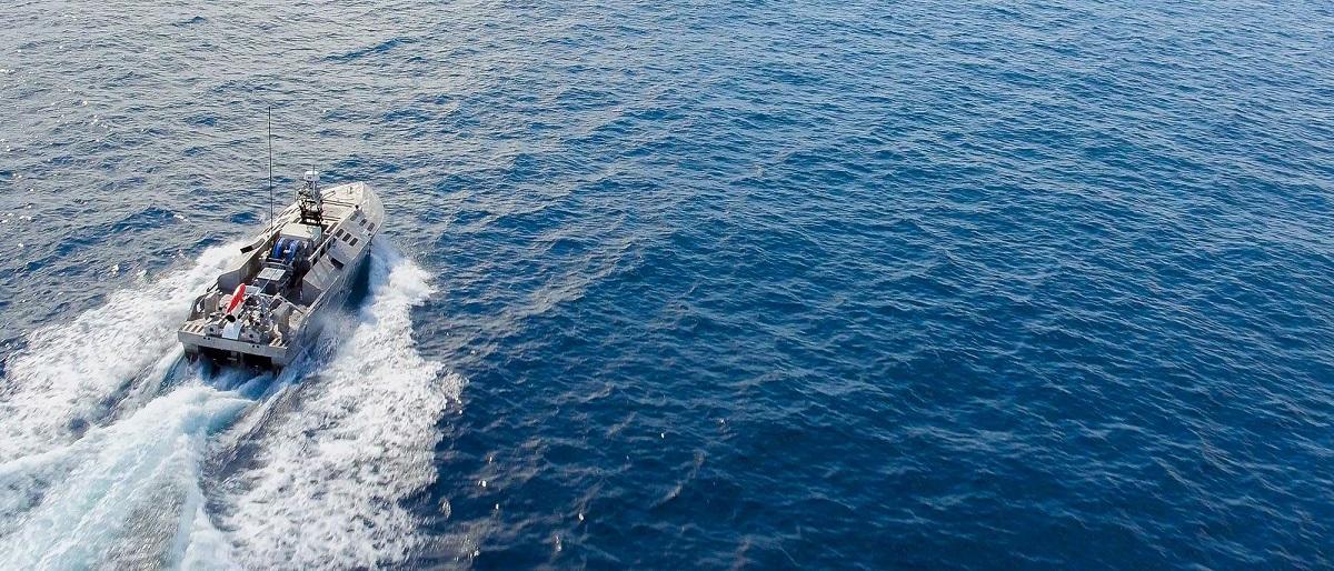 قایق بدون سرنشین نظامی آمریکا