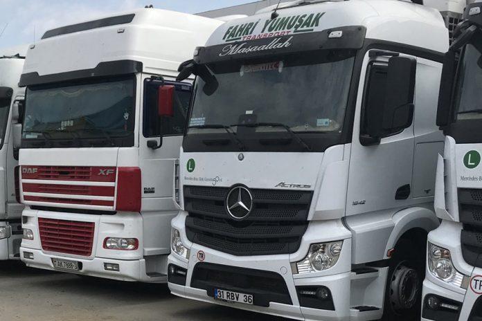 تفاوت کامیون دست دوم