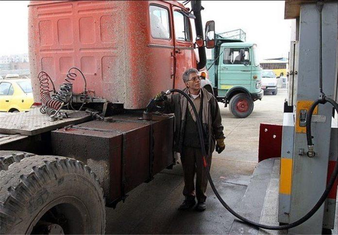 سهمیه پایه گازوئیل ناوگان کامیونی