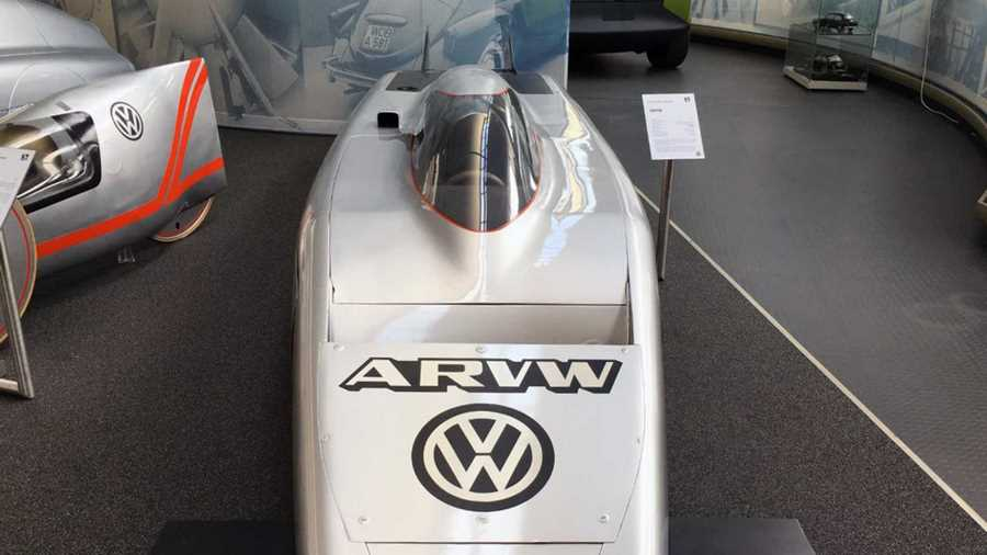 فولکس واگن ARVW آیرودینامیک ترین خودرو