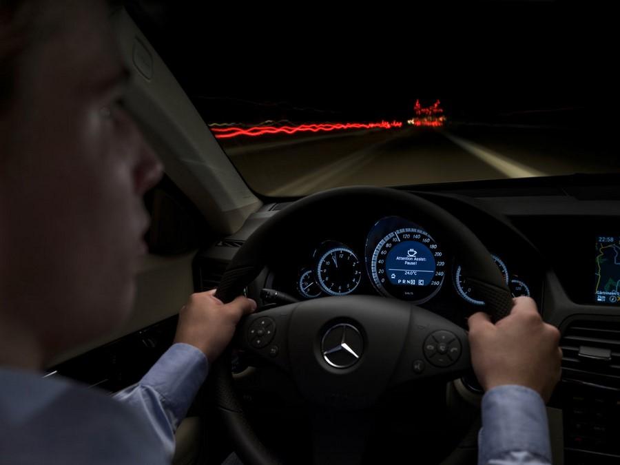 سیستم هشدار سطح هوشیاری راننده