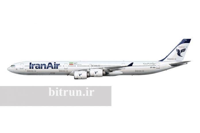 ایرباس ۳۴۰ ایران ایر
