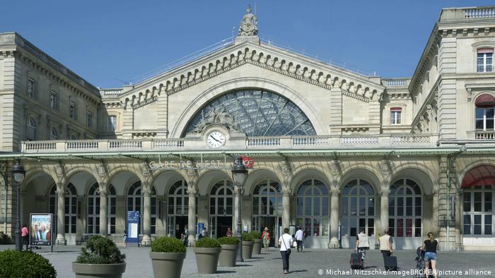بزرگترین ایستگاه قطار جهان / عکس ایستگاه شرقی پاریس