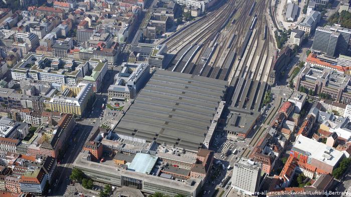 بزرگترین ایستگاه قطار جهان / عکس ایستگاه مونیخ آلمان
