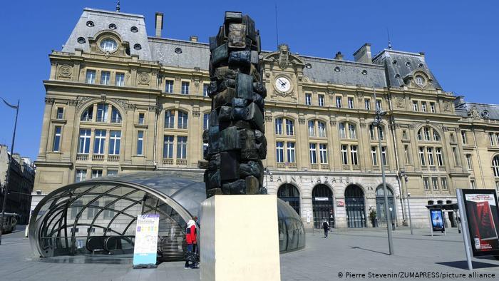 بزرگترین ایستگاه قطار جهان / عکس ایستگاه سن لازار پاریس