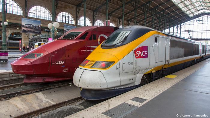 بزرگترین ایستگاه قطار جهان / عکس ایستگاه گار دو نور پاریس