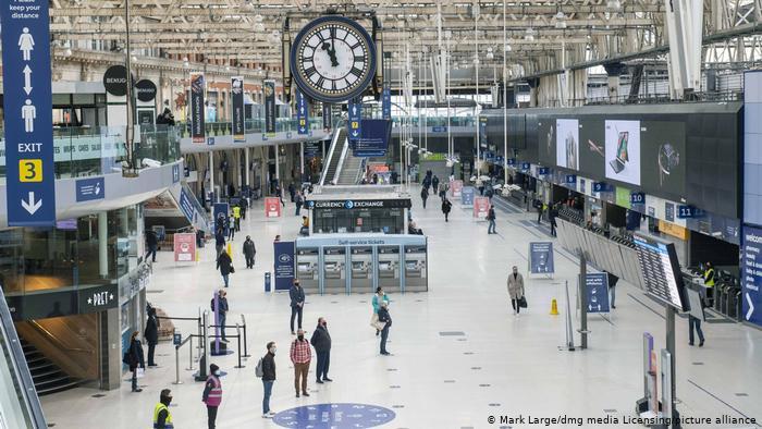 بزرگترین ایستگاه قطار جهان / عکس ایستگاه واترلو لندن