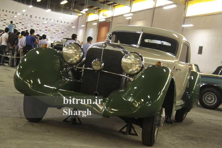 موزه خودرو ایران تهران خودرو بنز k500