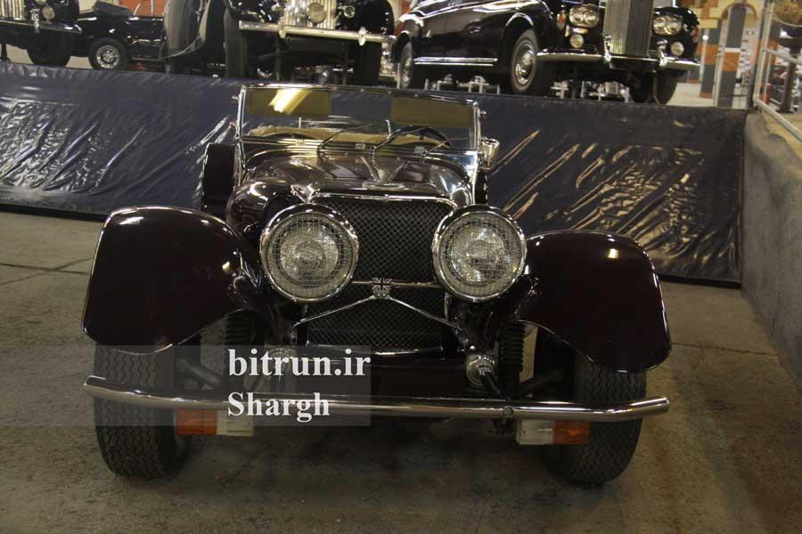 موزه خودرو ایران تهران خودرو پنتر جی 72