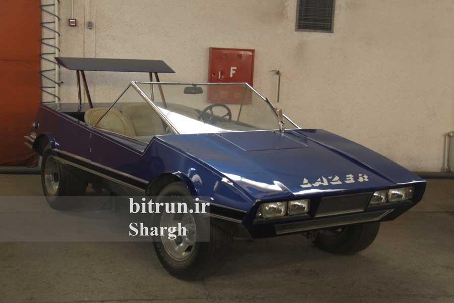 موزه خودرو ایران تهران خودرو پنتر لیزر