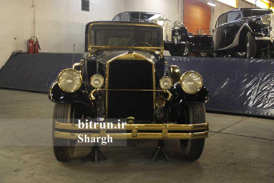 موزه خودرو ایران تهران پیرس آرو لیموزین