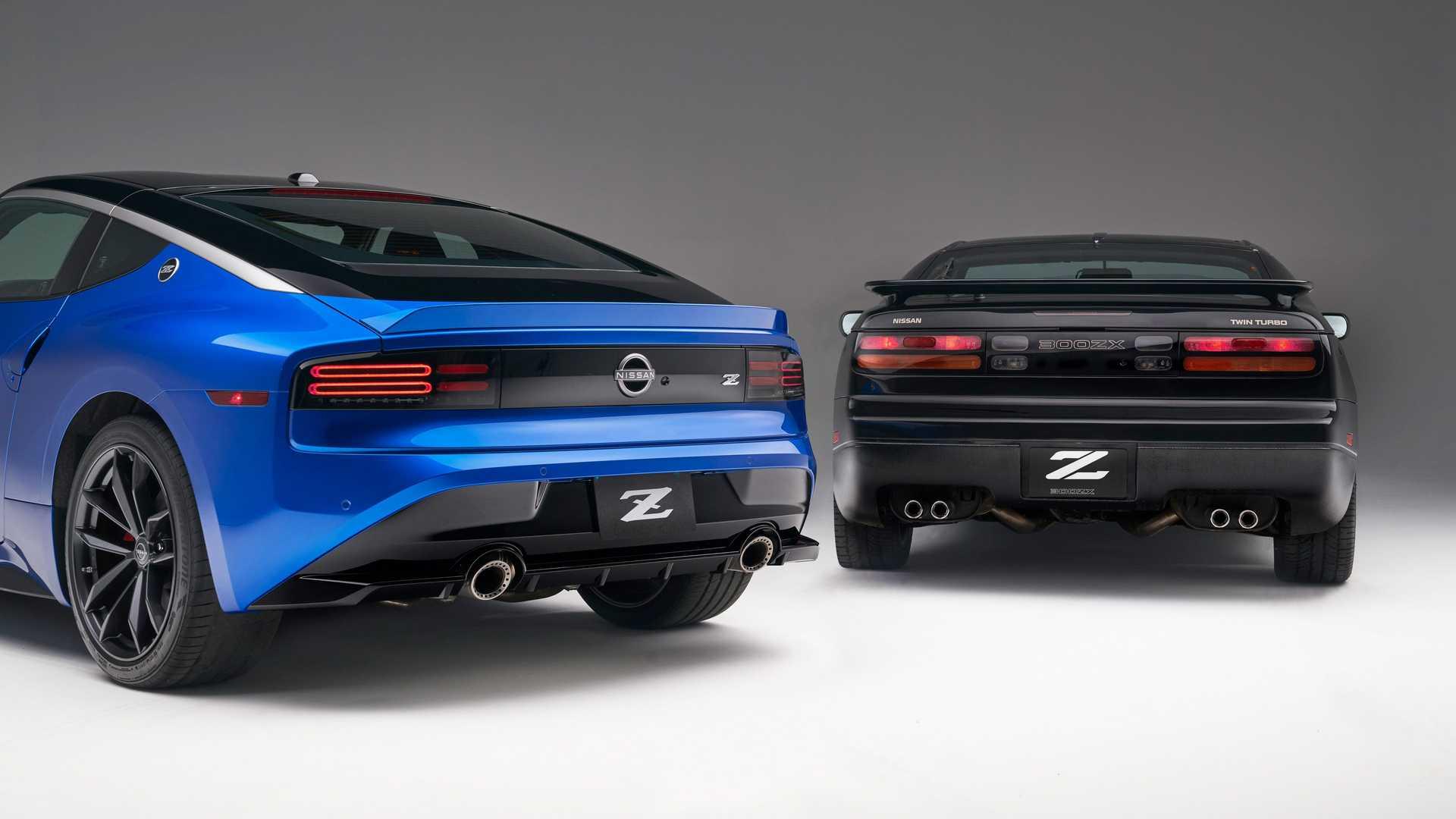 نیسان Z جدید و مدل 300ZX قدیمی