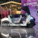 ب ام و i Vision خودروی شهری قابل بازیافت