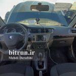 تست فنی تارا دنده ای ایران خودرو