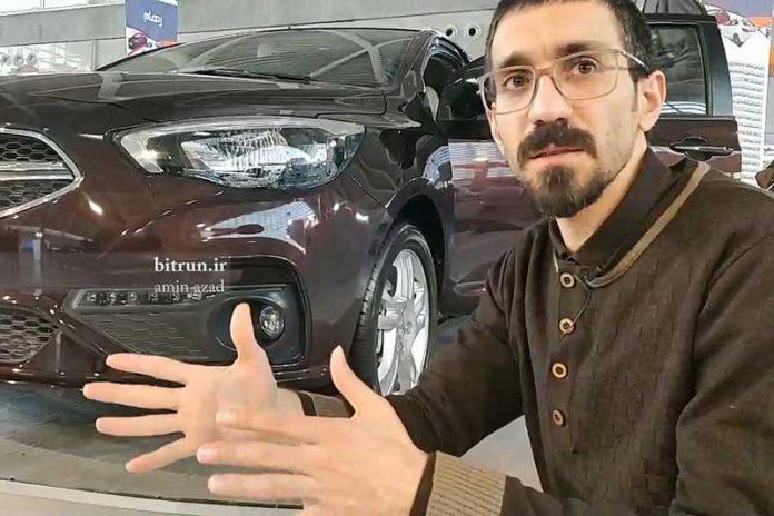 حسین سلیمانی طراح شاهین سرطراح ایران خودرو